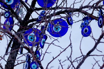 Evil Eye a common Eastern European & Middle East tradition