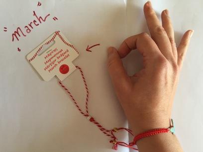 The March bracelet